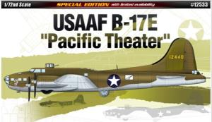 ACADEMY - 1/72 B-17E USAAF PACIFIC THEATER