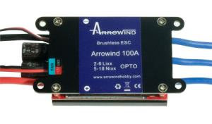 BIZETA - REG. ARROWIND BRUSHLESS AIR 100A OPTO HV