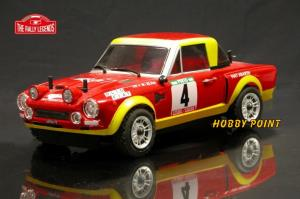 RALLY LEGENDS - FIAT 124 ABARTH RTR