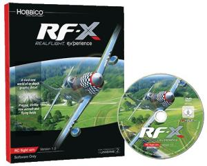 GREAT PLANES - REAL FLIGHT RF-X SOFTWARE OONLY