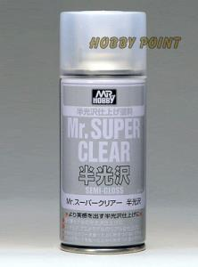 GUNZE SANGYO - B516 SUPER CLEAR SEMIGLOSS SPRAY 170 ml
