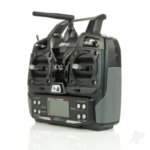 HITEC - OPTIC 6 SPORT 2,4GHZ MODE2 NO SERVO
