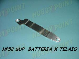 HOBBY POINT - SUPPORTO BATTERIE PER TELAIO