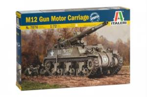 ITALERI - 1/72 M12 GUN MOTOR CARRIAGE